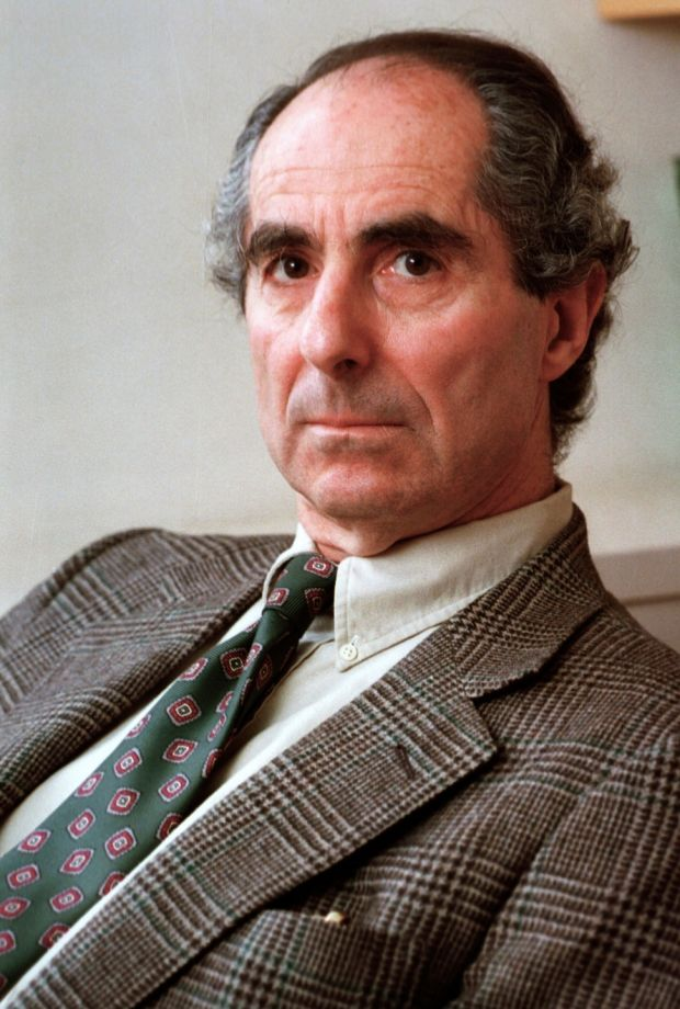 Philip Roth in 1993 during an interview promoting his new book Operation Shylock: A Confession. File photograph: AP