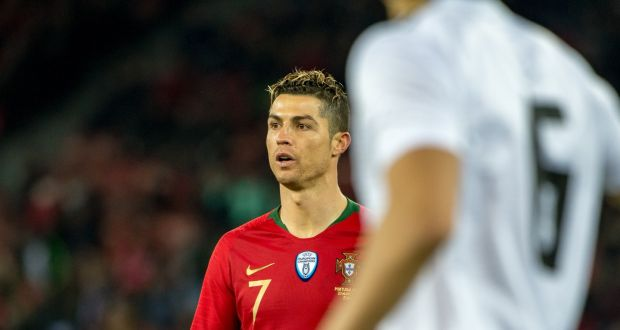 08b04201d Cristiano Ronaldo will be featuring in his fourth World Cup this summer.  Photograph  Robert