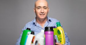 Diluteze   founder Simon Ruddy   first spotted the gap in the market for a safer way of handling chemicals when working as a salesman with hygiene and cleaning products company, SC Johnson & Diversey. Photograph: Corin Bishop