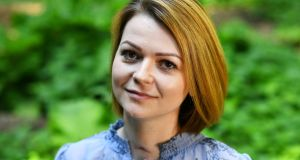 Yulia Skripal, who was poisoned in Salisbury along with her father, Russian spy Sergei Skripal. Photograph:  Dylan Martinez/Reuters