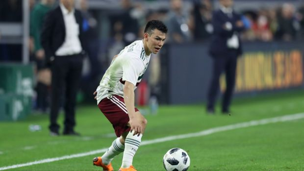 It doesn't seem that Hirving Lozano is called 'Chucky' after the Rugrats character anyway. Photo: Getty Images