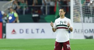 Javier Hernandez has come back into form since joining West Ham and will be one of Mexico's main men at this World Cup. Photo: Getty Images