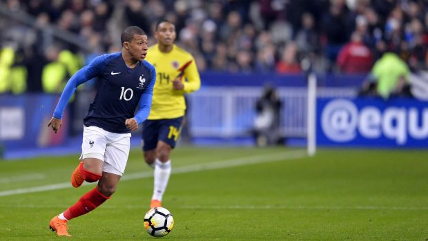 Kylian Mbappe is a likely starter for France. Photograph: Aurelien Meunier/Getty