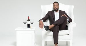 "Dwayne Wade: ""I think enjoying wine comes with age and sophistication and a certain kind of maturity."" Photograph: dwadecellars.com"