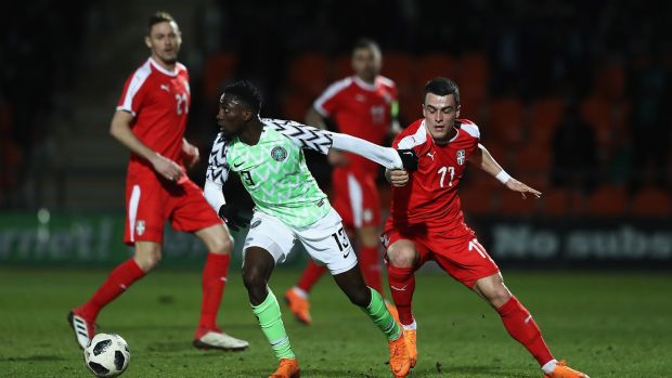 Wildred Ndidi will be key for Nigeria this summer. Photograph: Matthew Lewis/Getty