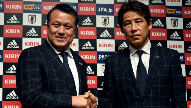 Akira Nishino was only appointed Japan manager in April. Photo: Toshifumi Kitamura/Getty Images