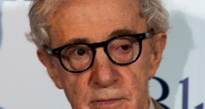 Woody Allen is being condemned 'for a crime he did not commit', his son Moses says. Photograph: Charles Platiau/Reuters
