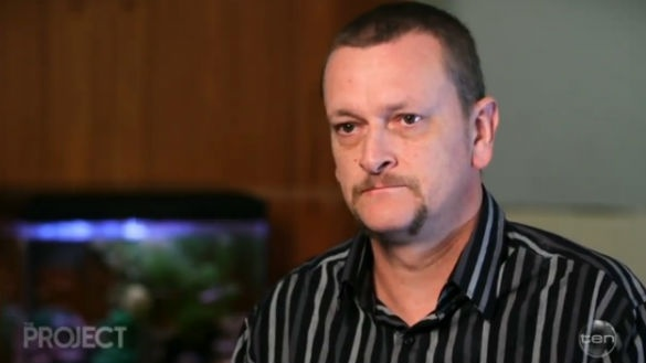 Dan Hall on Network Ten's 'The Project' has called on the minister to allow him to stay in Australia with his family.