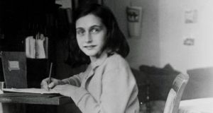 Anne Frank: researchers believe the hidden text reveals her first foray into trying to write in a more literary tone.