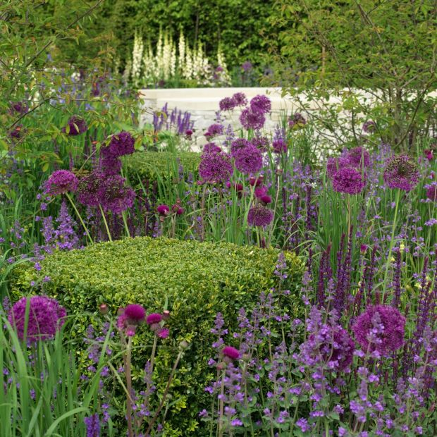 A previous show garden at Bloom. Photograph: Richard Johnston