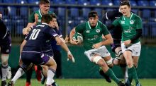 Number eight Jack O'Sullivan has been ruled out  of the Under-20 Rugby World Championship along with tighthead prop. Photograph: Photograph: Tommy Dickson/Inpho