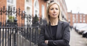 Data Protection Commissioner Helen Dixon: from Friday she will have attention-grabbing fines at her disposal. Photograph: Seán Breithaupt and Yvette Monahan/Getty Images