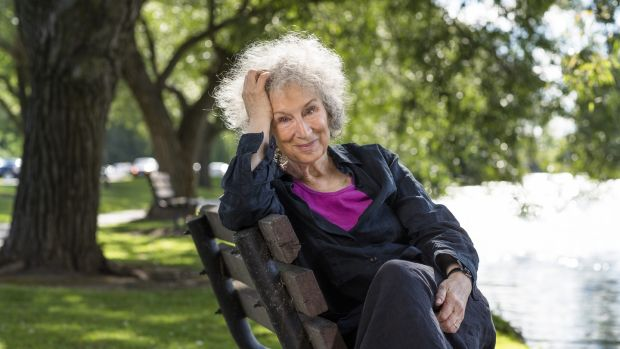 Canadian author Margaret Atwood: the protagonist in her novel Alias Grace is a young Irish woman.