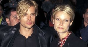 Actor Brad Pitt and actress Gwyneth Paltrow in 1997. Photograph: Getty Images