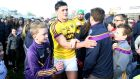 Lee Chin: the Wexford hurler  wants to devote himself full-time to the game, says Owens. Photograph: Donall Farmer/Inpho