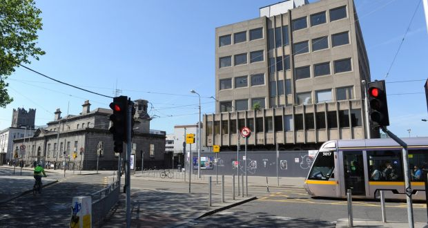 The Former Motor Tax Office, River House, On Chancery Street In Dublin Is On