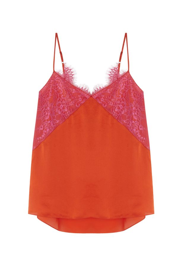 Give your wardrobe a colourful infusion with this top, €89, from Uterque.