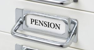 The Irish Association of Pension Funds  survey showed that almost two-thirds of companies have acted to derisk their pension fund investment strategy. File photograph: Getty Images