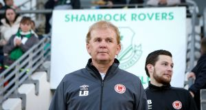 "Liam Buckley: ""We need to make sure we regroup and get our energy levels back up and see can we turn over Cork."" Photograph: Oisín Keniry/Inpho"