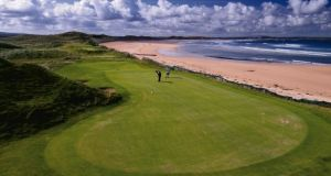 The beach is located a short distance from Doonbeg Golf Course, which is owned by the US President Donald Trump. File photograph: The Irish Times