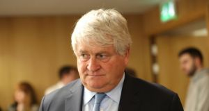 Businessman Denis O'Brien who owns just under 30 per cent of Independent News and Media. Photograph: Niall Carson/ PA WIRE