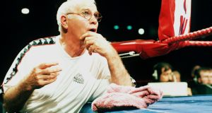Brendan Ingle pictured ringside in 1997. Photograph: Inpho/Allsport