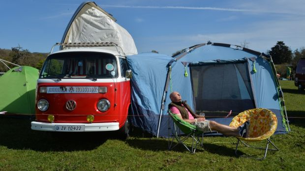 Bring your camper van – or borrow one – for the Vantastival Music Festival. Photograph: Alan Betson / The Irish Times