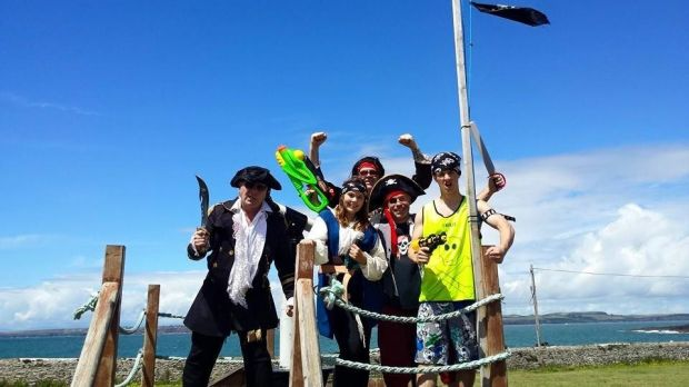 Pirate's ahoy in the Hooked on the Sea Festival at Hook Head