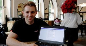 Austrian lawyer and privacy activist Max Schrems who has filed four complaints using  GDPR to challenge Facebook and Google  data collection policies and their take-it-or-leave-it approach to consent. Photograph: Heinz-Peter Bader/Reuters