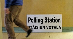 Under current law an Irish citizen is disqualified from voting in elections or referendums if they have lived outside the State for more than 18 months: Photograph: Julien Behal/PA Wire