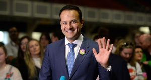 Taoiseach Leo Varadkar has passed a referendum on an issue that many other leaders have ran away from. Photograph: Dara Mac Donaill / The Irish Times