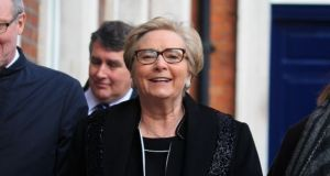 Former tanaiste Frances Fitzgerald said she hoped to see legislation allowing for terminations passed by the Dáil as quickly as possible. Photograph: Collins