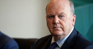"Former  minister for finance Michael Noonan who had not declared his position: ""We'll see what is in the Bill but my general disposition would be to support what is being proposed by the Government."" Photograph: Eric Luke"