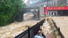Eyewitness footage captures severe flooding in Maryland