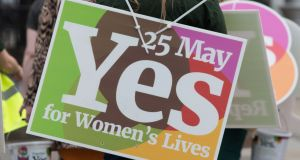 The Eighth Amendment  will be removed from the Irish Constitution after the electorate voted  66.4 per cent Yes to 33.6 per cent  No in a referendum on May 25th. Photograph: AFP