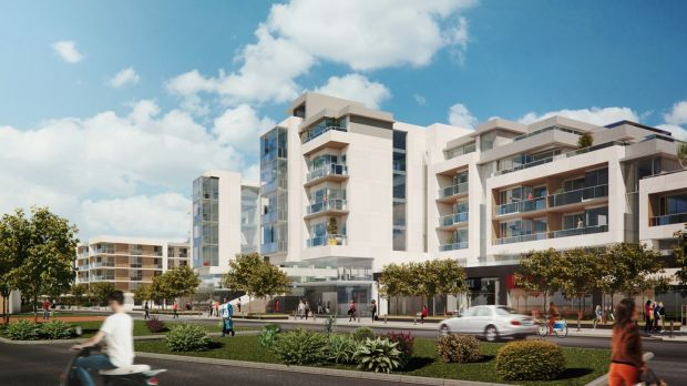 CGI of Project Pier on 6.5 acres, located between Howth Road (R105) and Claremont Strand in Howth