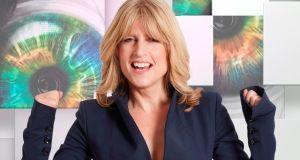 British journalist Rachel Johnson. Photograph: Channel 5