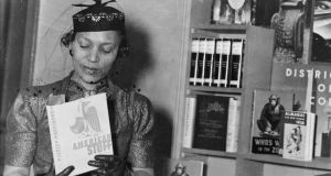 "Author Zora Neale Hurston (1891-1960) in New York,  circa 1937: she  refused requests to publish the book ""in language rather than dialect"". Photograph:  PhotoQuest/Getty Images"