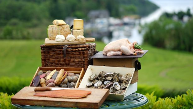 Oysters, potatoes, duck, cheese and smoked fish were the Irish products singled out for mention at the Euro-Toques and EirGrid food awards