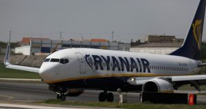 A Spanish union spokesman reportedly told a news conference that cabin crew unions would strike if Ryanair did not meet their demands by June 30th. Photograph: Rafael Marchante/Reuters