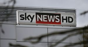 Uncertain times: the loss-making Sky News. Photograph: Daniel Leal-Olivas/AFP