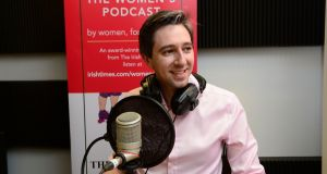 Minister for Health Simon Harris during the Irish Times Women's Podcast on Monday. Photograph: Cyril Byrne