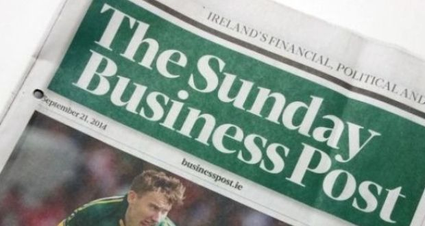 sales of the sunday business post rose by almost 5 per cent in the second half