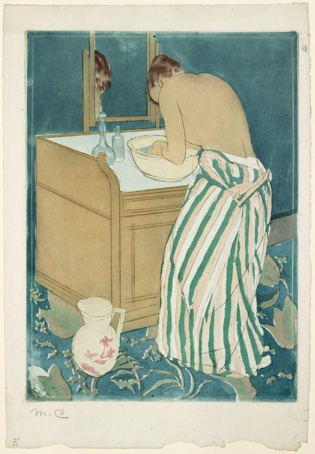 Mary Cassatt: La Toilette (1890-1). Courtesy of Marc Rosen Fine Art and Adelson Galleries, New York