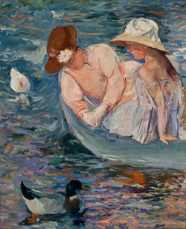 Mary Cassatt: Summer (1894-5). Courtesy of Terra Foundation for American Art, Chicago