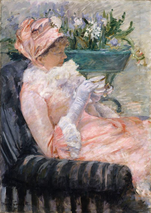 Mary Cassatt: The Cup of Tea (1880-1). Courtesy of the Metropolitan Museum of Art, New York