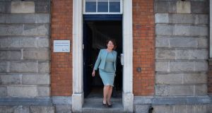 Former Garda commissioner Nóirín O'Sullivan  responded to allegations made by Supt Taylor of a smear campaign against Garda whistleblower Sgt Maurice McCabe. Photograph: Tom Honan