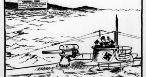 A cartoon about Irish neutrality, published in the 'Evening Standard' in November 1940. Illustration: David Low