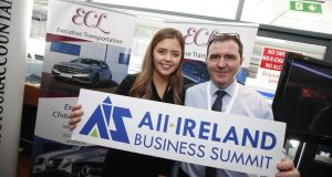 Katie and John Markham of ECL. The family-run executive transport company is now  entering a new phase through marketing and social media skills