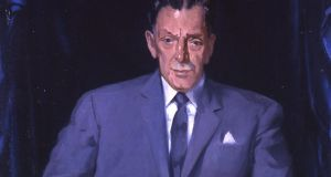 Portrait of Seán Lemass in Leinster House.